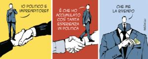 Taglio alto/Politico e imprenditore