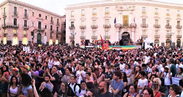 Catania è più bella con l'arcobaleno
