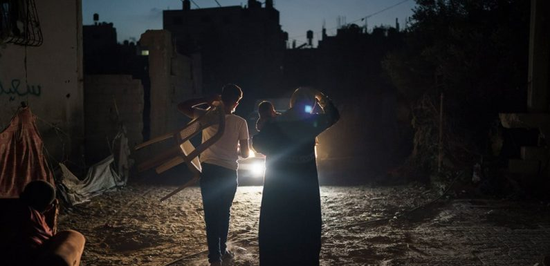 Israele lascia Gaza senza energia elettrica
