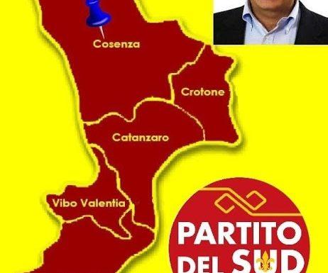 Lunedì 14 giugno a Cosenza, insieme al candidato Presidente Luigi de Magistris, saranno presentati i candidati del Partito del Sud alle prossime elezioni regionali.