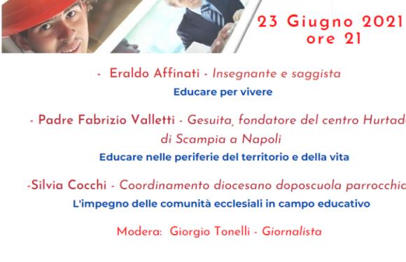 Punto Pace di Bologna – Fratelli tutti 8° incontro – Educazione solidale: una sfida e una responsabilità