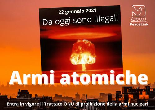 """Seminario """"Dal Trattato di Non Proliferazione al Trattato di Proibizione delle Armi Nucleari"""""""