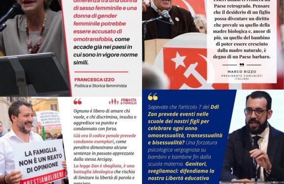 DDL Zan, la pericolosa convergenza fra nazionalisti di destra e sinistra, Vaticano, fondamentalisti religiosi, neoliberali e femonazionaliste