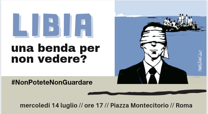 Libia, oggi in piazza le ong