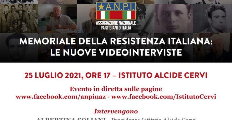 Memoriale della Resistenza Italiana: le nuove videointerviste