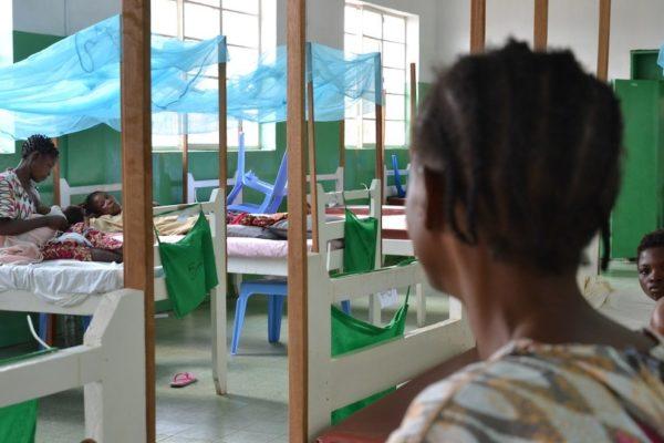 Vittime di violenza sessuale all'ospedale di MSF a Kananga