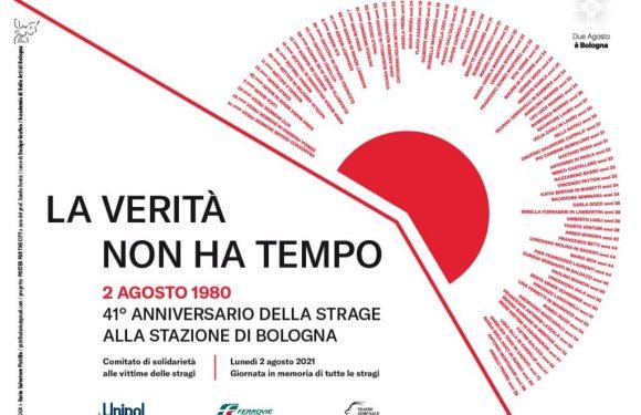 41° anniversario della strage alla stazione di Bologna. Le iniziative per tenere accesa la memoria