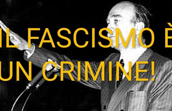 """""""NO a Via Almirante ad Alessandria: il fascismo è un crimine!"""""""