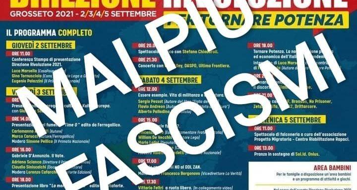 """""""No al ritorno dei fascisti a Grosseto"""""""