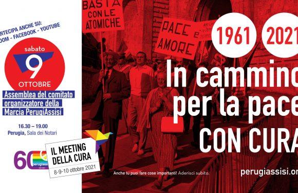 1961-2021 In cammino per la Pace. Con Cura.