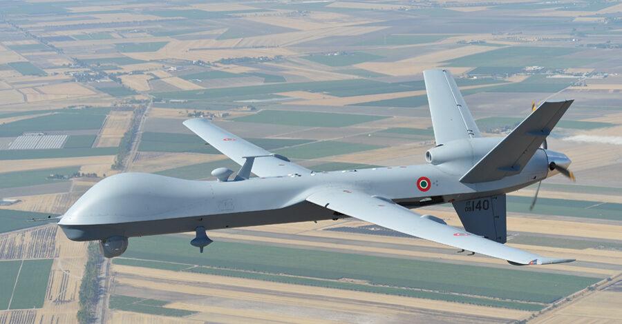 MQ-9A Predator B in volo