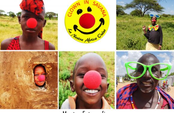 """""""Clown in Savana"""", la mostra fotografica sui diritti dei bambini"""