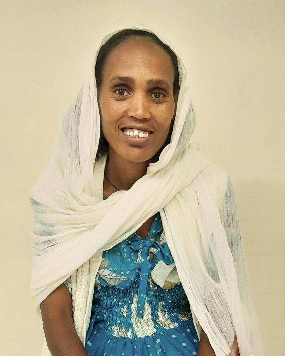 Senait, paziente eritrea