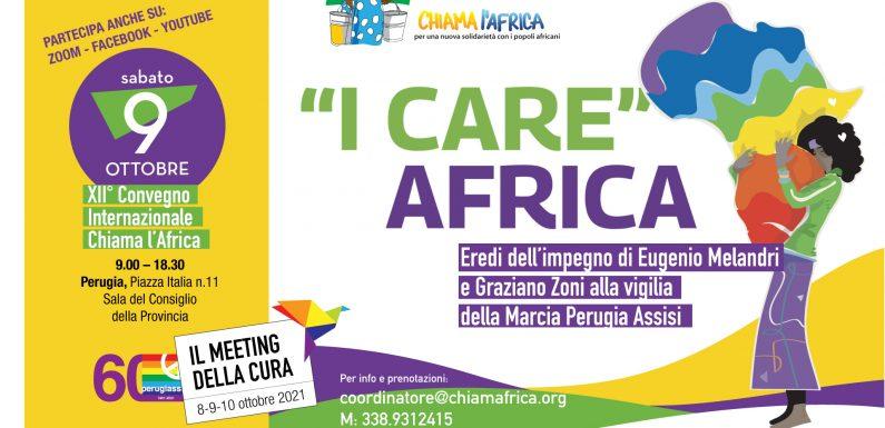 """I Care"" Africa – 9 ottobre 2021"