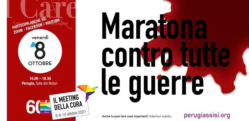 Partecipa alla Maratona contro tutte le guerre